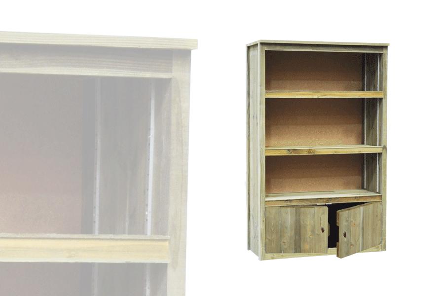 armoire basse portes basses vercors alv. Black Bedroom Furniture Sets. Home Design Ideas