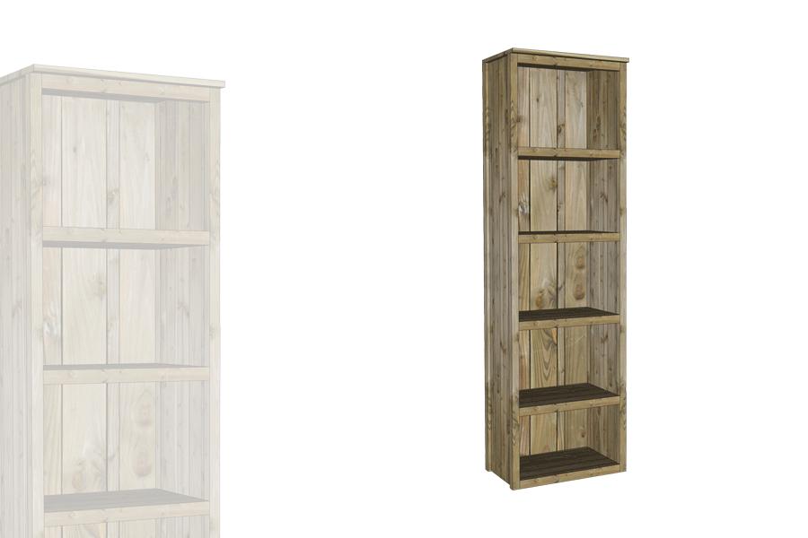 armoire troite ouverte vercors alv. Black Bedroom Furniture Sets. Home Design Ideas