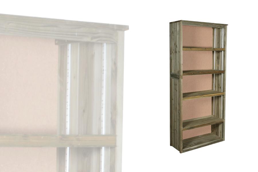armoire haute ouverte vercors alv. Black Bedroom Furniture Sets. Home Design Ideas