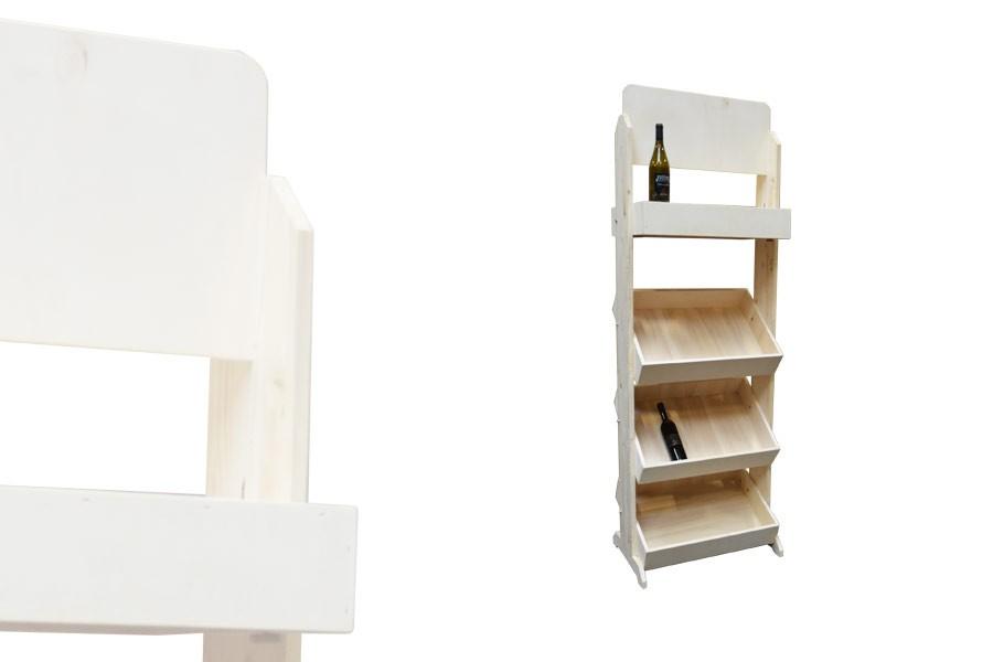 meuble pr sentoir 4 casiers alv. Black Bedroom Furniture Sets. Home Design Ideas
