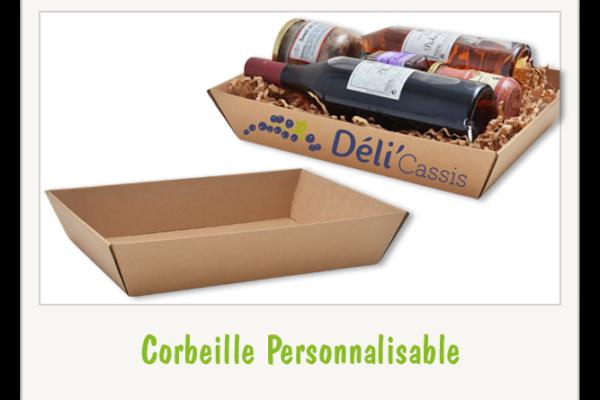 Corbeille Carton PERSONNALISABLE