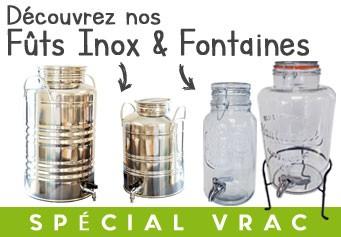 """Solution """"VRAC"""" – Fûts Inox et Fontaines"""