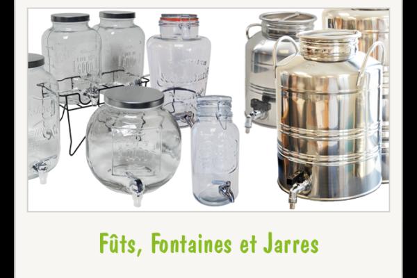 Fûts, Fontaines et Jarres