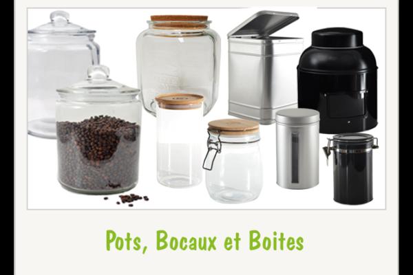 Boites, Bocaux et Sacs VRAC
